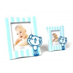 Portafotos juguetón azul xl