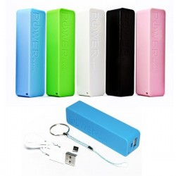 Power bank classic 2600 mah en caja de regalo