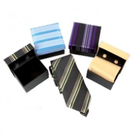 Set corbata normal y gemelos