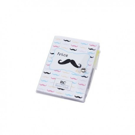 Libreta notas Moustache