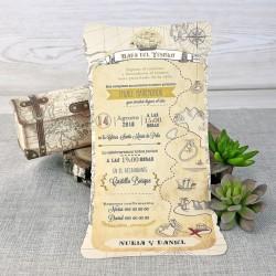 Invitación de boda carambola