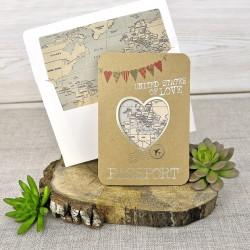 Invitación de boda durión