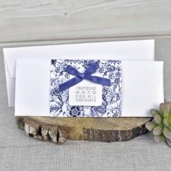 Invitación de boda kiwano