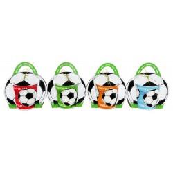 Taza fútbol en bolsa de regalo