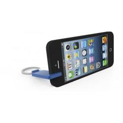 Llavero moneda carrito + soporte móvil en caja regalo