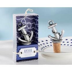 Tapón botella ancla anchor en caja regalo