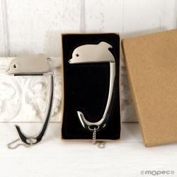 Cuelga bolsos Delfín en caja regalo