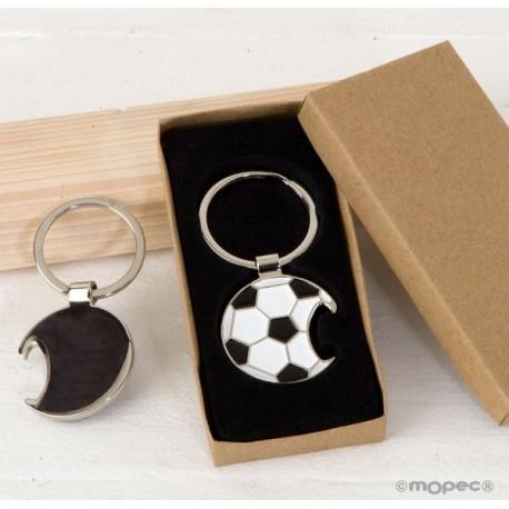 Llavero abridor pelota fútbol