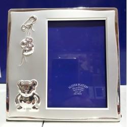 Portafoto metal grande oso regalos