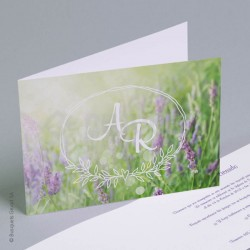 Invitación de Boda Naturel
