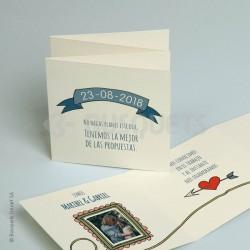 Invitación de Boda Planes de boda