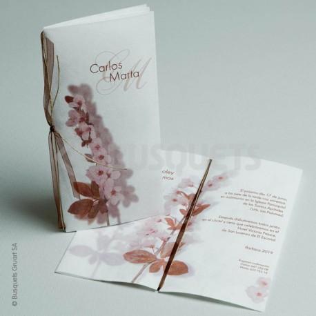 Invitación de Boda Flor
