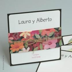 Invitación de Boda Happy Flowers