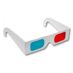 Gafas 3d de cartón