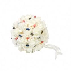 Bola flores pequeña