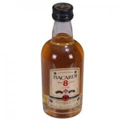 Ron Bacardi Reserva 8 anos 50 ml