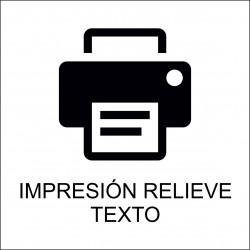 Impresión Digital Texto