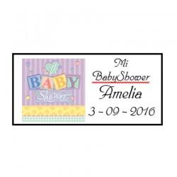 Tarjeta Regalito Baby Shower Modelo B12