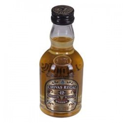 Whisky Chivas Regal 12 anos 50ml