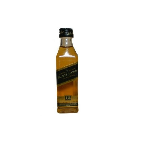 Whisky Johnnie Walker Black Label 50ml