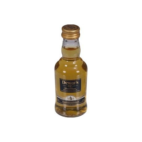 Whisky White Label reserva 12 anos 50ml