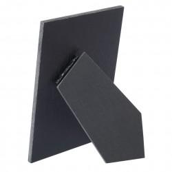 Portafotos adhesivo madera negro