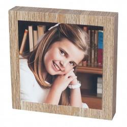 Marco madera adhesivo doble cara