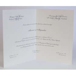 Invitacion de boda Camilo