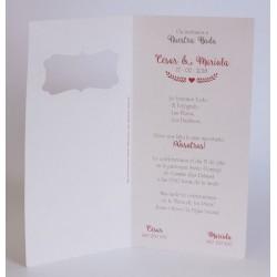 Invitacion de boda Eymi