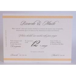 Invitacion de boda Cuca