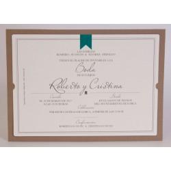 Invitacion de boda Ramsés