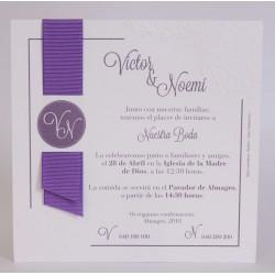 Invitacion de boda Almiar