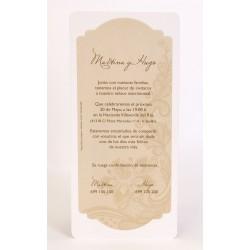 Invitacion de boda Alguna