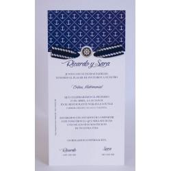 Invitacion de boda Campanita