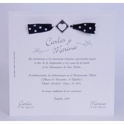 Invitacion de boda Chiqui