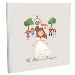 Libro de firmas niña iglesia