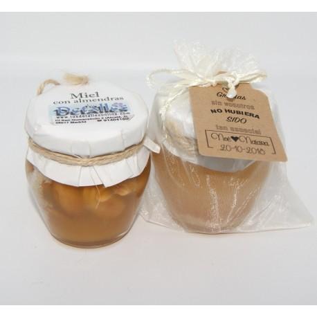 7b73962f2 Miel gourmet 100g con nueces o almendras - Detalles de Boda