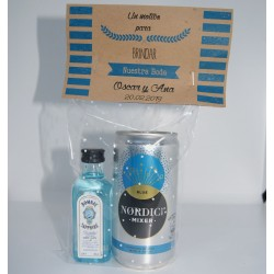 Pack Gin Bombay Sapphire Tonica