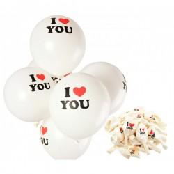 Set 100 globos i love you