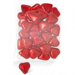 Corazones chocolate (bolsa 1 40 unids.)