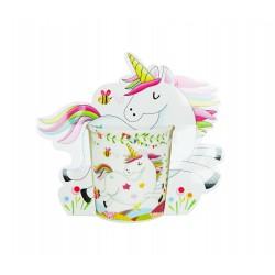 Taza unicornio presentada en bolsa de regalo unicornio