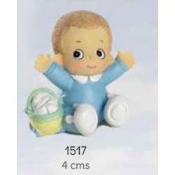Bebé niño celeste bracitos