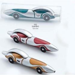 Bolígrafo coche 4 colores stdos. c/caja