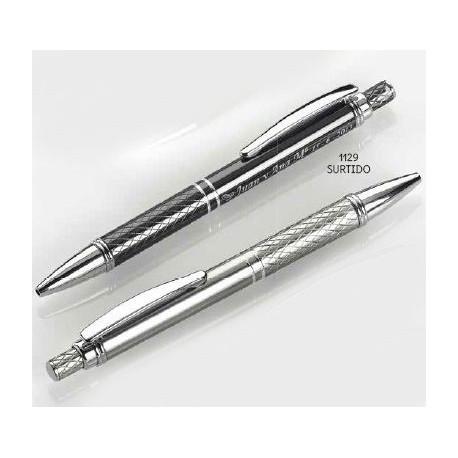 Bolígrafo colores alumínio dibujo surtido. 14 cms