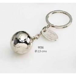 Llavero balón de fútbol c/caja regalo
