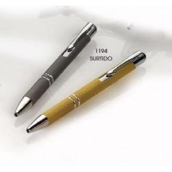 Bolígrafo elegante alum. c/puntero táctil