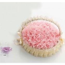 Aguja flor bolitas lila (bolsa 24 uds.)