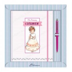 Diario comunion vestido caliz