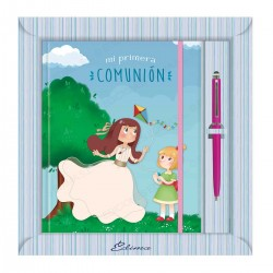 Diario comunion niña cometa