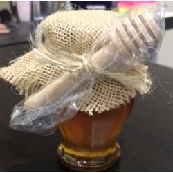 Miel gourmet 120g 100% Española con palo de madera
